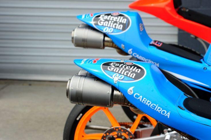 Alex Marquez, Rins, bikes with different tail pieces,  Australian Moto3 2014