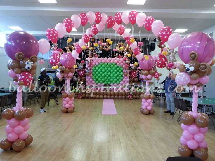 Baby Birthday Decoration At Home