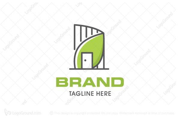Logo for sale: Eco House Logo