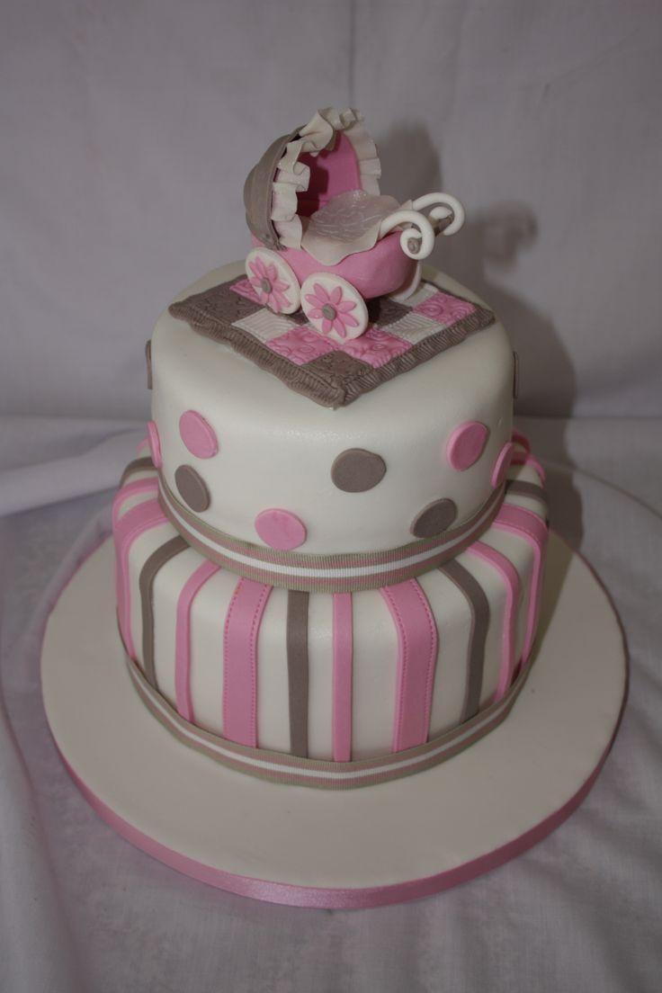 Baby Shower Cake - www.suikerbekkie.co.za