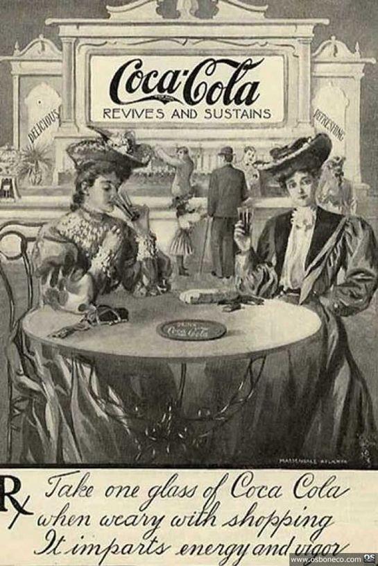 Coca Cola old ad
