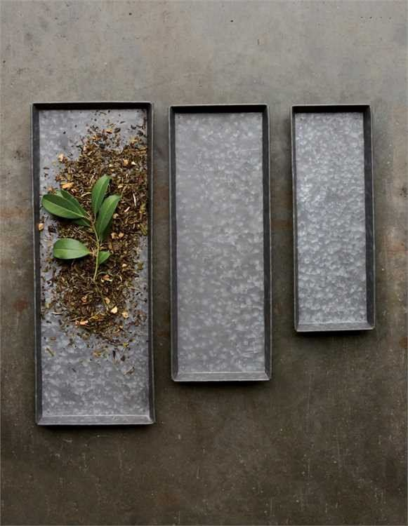 Zinc Decorative Trays, Set of 3. Visit The Shop at Snazzy Little Things #shop #shopsnazzylittlethings #homedecor #industrial #farmhouse