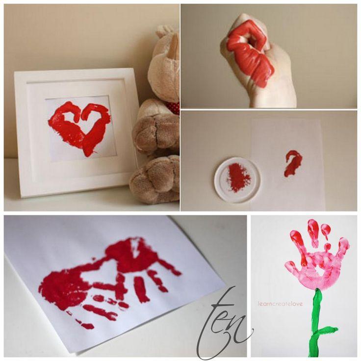 246 best foot and hand prints kids stuff images on pinterest crafts day care and infant crafts. Black Bedroom Furniture Sets. Home Design Ideas