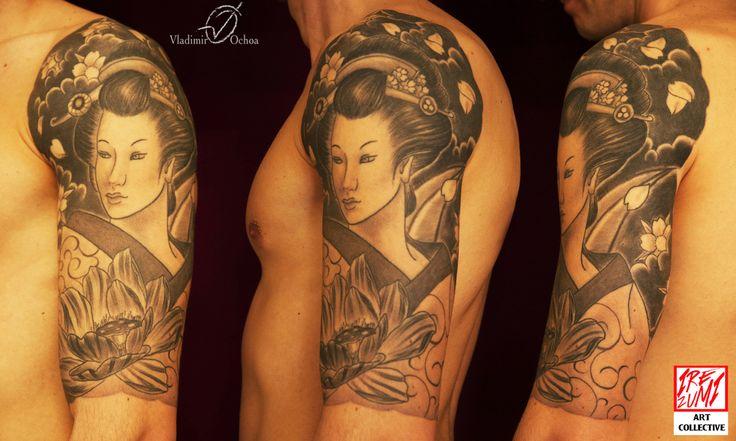 #geisha #traditional #irezumipescara #loto