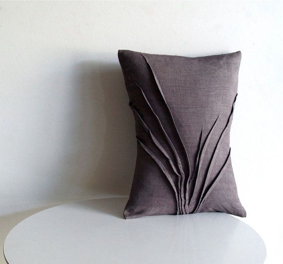 RESERVED accent pillow grass texture by yorktownroad on Etsy