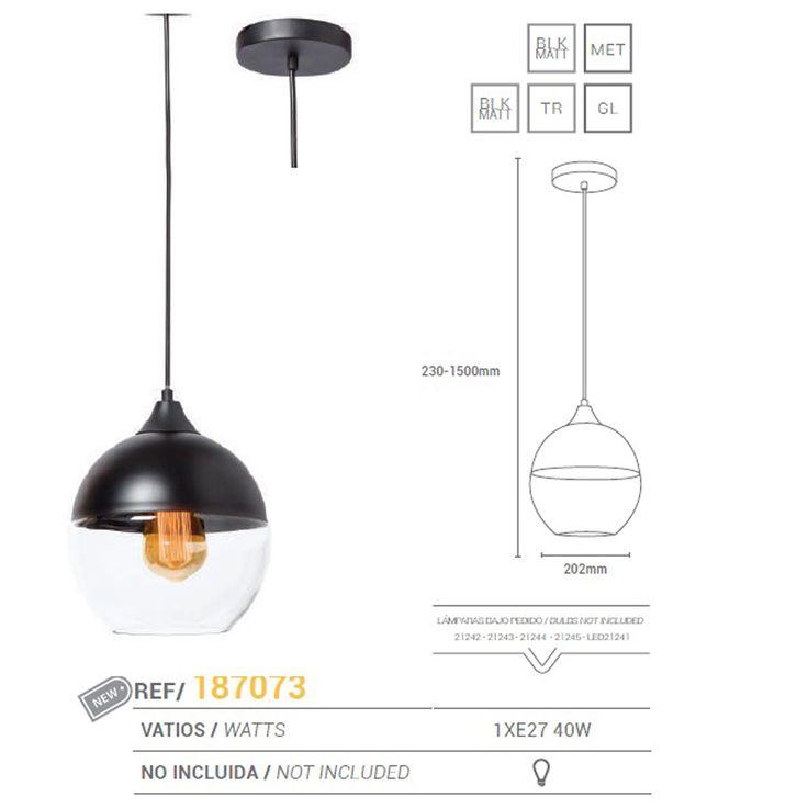 Pendul design minimalist VINTAGE III 187073 SU - Corpuri de iluminat, lustre, aplice