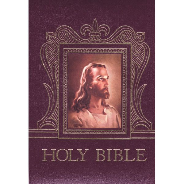This was the cover on the Bible that my Mom and Dad had displayed in our home.  Truly the Bible is the greatest book ever and is filled with all we really need to know!