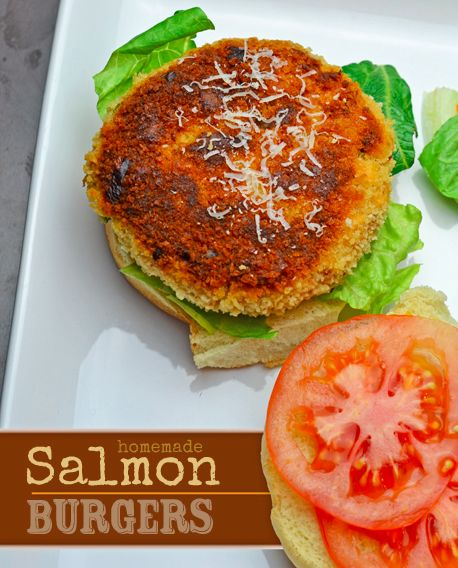 Salmon burgers, Salmon and Burgers on Pinterest