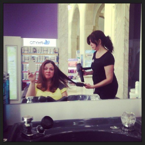 Makeover at Duane Reade 40 Wall Street Salon #DuaneReade #cbias #shop @Duane Reade