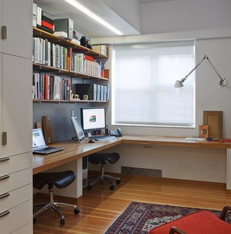 17 best ideas about home office layouts on pinterest home office office shelving and home desk for Home office designs and layouts