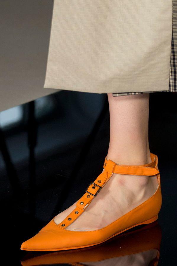 Женская обувь тенденции весна-лето 2017. Балетки с острым носом Mila Schon