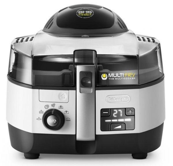 مقلاة اكسترا شيف الكهربائية متعددة الوظائف 1 7 لتر 2400 واط Multicooker Air Fryer Healthy Delonghi