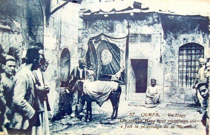 Urfa Güzel bir 1900 'lu yıllar Urfa Kartpostalı
