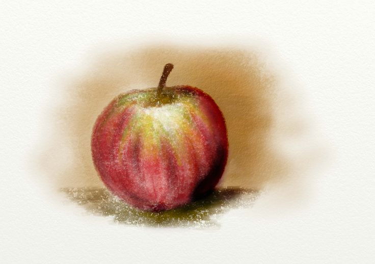 Pencil apple