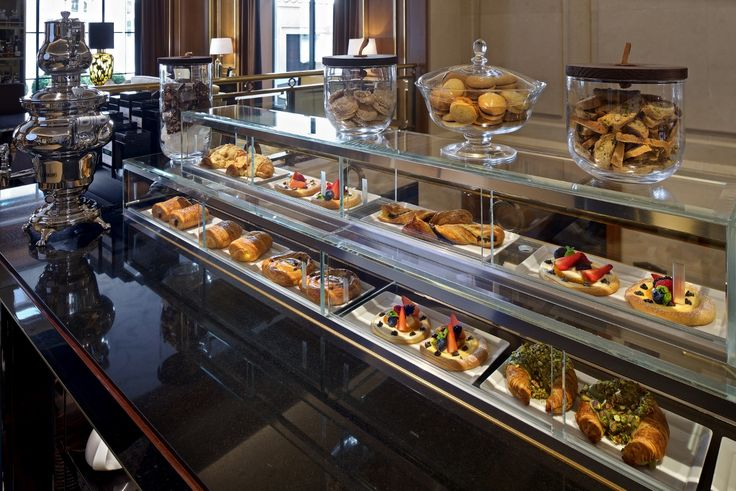 Pastries at The Gallery Lounge at Four Seasons Hotel Prague