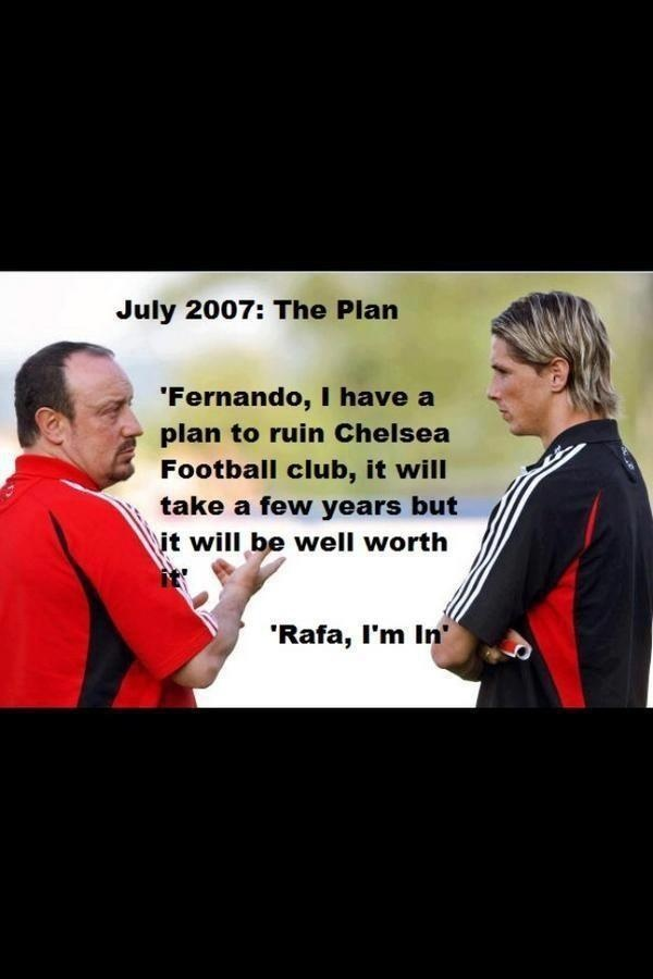 Rafa's Master Plan