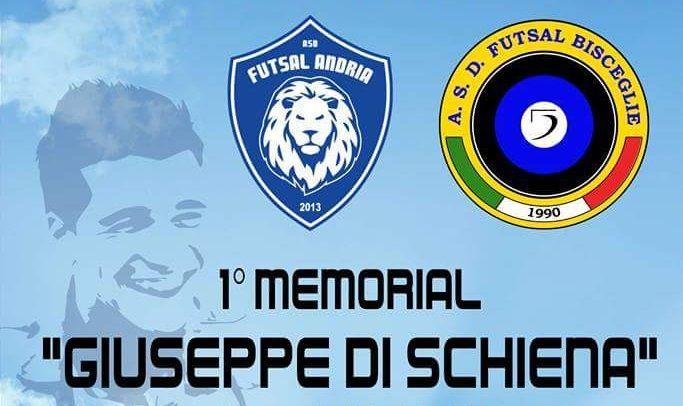"""Futsal Bisceglie ospite ad Andria per il Memorial """"Giuseppe Di Schiena"""""""