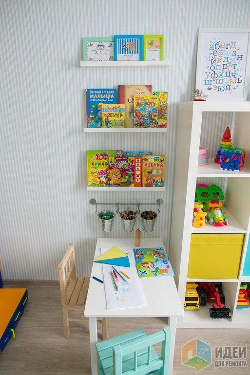 Столик для рисования в детской