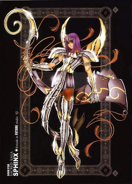 Tags: Anime, Future Studio, Saint Seiya, Sacred Saga Art Collection Green, Pharaon (Saint Seiya), The 108 Specters