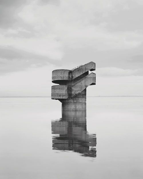 Noémie Goudal creates contemporary landscape-photography which highlights the duality behind nature and modernity. Her work although refined in aesthetic, i