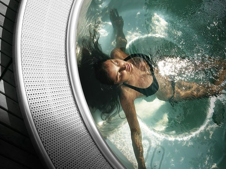 #Teuco Mirror 620 is perfect for anyone seeking truly complete #relaxation! Try it! #Minipool #relax #water