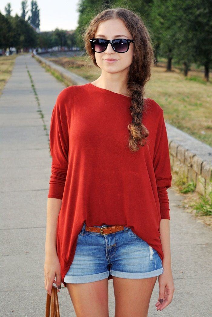 Love Style Magic: Jeans & red