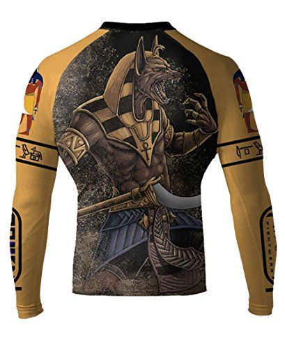 Anubis is the god associated with mummification and the afterlife in ancient Egyptian religion usually depicted as a canine or a man with a canine head. One of his prominent roles was as a god who us...