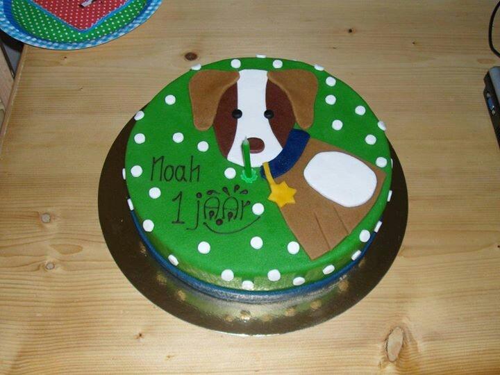 Lief taart hondje