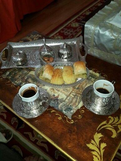 Turk kahvesi,gerebiç,baklava...