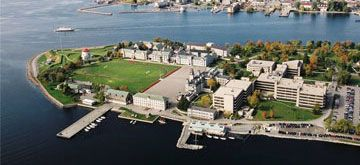 """Royal Military College of Canada   A """"university with a significant difference,"""" the Royal Military College of Canada (RMC) caters to three distinct academic groups."""