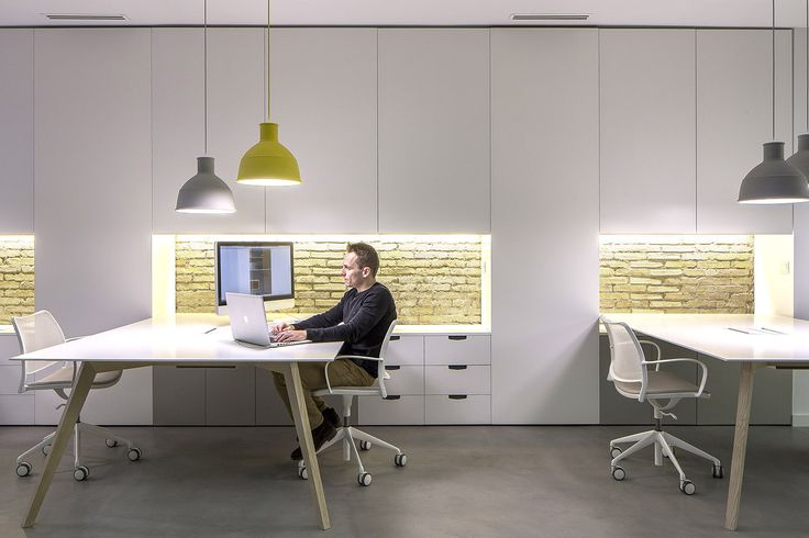 Nonna design studio in Valencia has created this light space where to think…