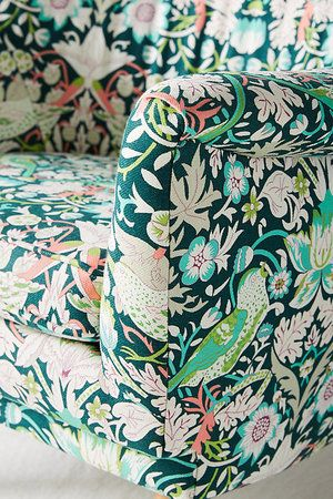 The new home collection of Liberty from  Anthropologie is stunning  -  Use of floral designs makes the space so beautiful!   @libertylondon @anthropologie  | www.homeology.co.za