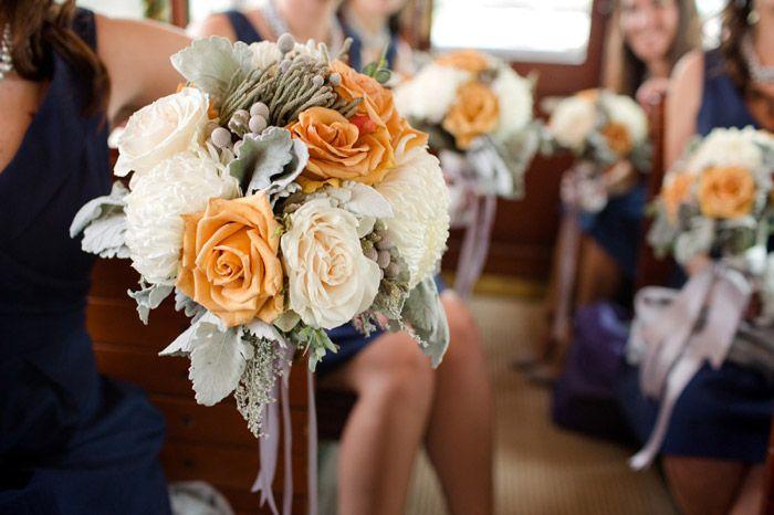 Fall Wedding Bridesmaids