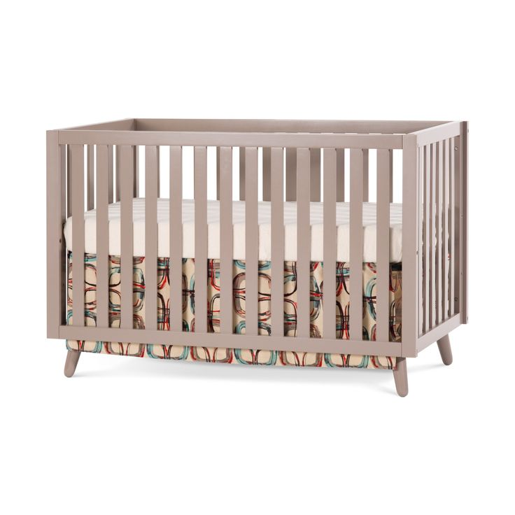 Classic yet contemporary, eclectic but cool, the Loft collection combines mid-century modern styling with an eye-catching potters clay finish. The bold design scheme is just what the modern parents have been searching for to achieve the unforgettable nursery of their dreams. The 4-in-1 convertible crib grows with your child by converting into a crib, toddler bed, day bed and full bed. Quality construction will last for years. Strong metal mattress support adjusts to two heights. Coordinating…