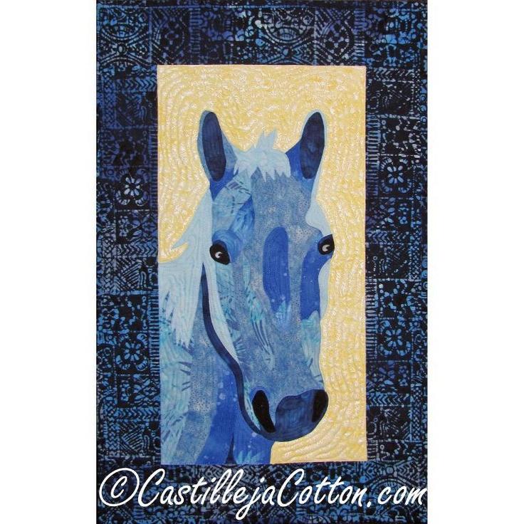 Crookshank Horse Quilt Pattern 4504-12