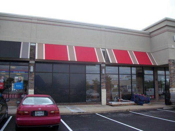 Awnings On Retail Stores