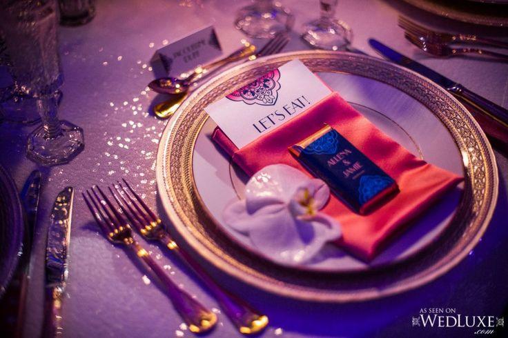 Elegant Table Setting - Oasis Centre - Wedding Reception - Jennifer Bergman Weddings