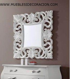 Espejo Barroco Tallado 0211 del catálogo de Mueblesidecoracion. Consulte nuestro catálogo completo haciendo click http://www.mueblesidecoracion.com/41-espejos