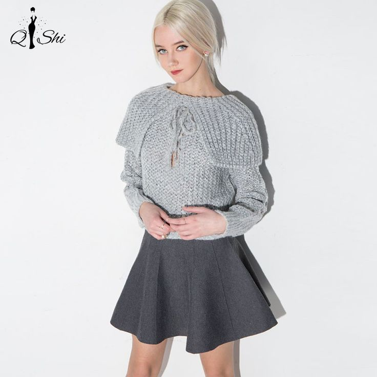 New Spring Autumn Women Sweater Grey Shrug Slim Tie Belt Pullovers Long Sleeve Knitwear Sweaters-in Shrugs from Women's Clothing & Accessories on Aliexpress.com | Alibaba Group