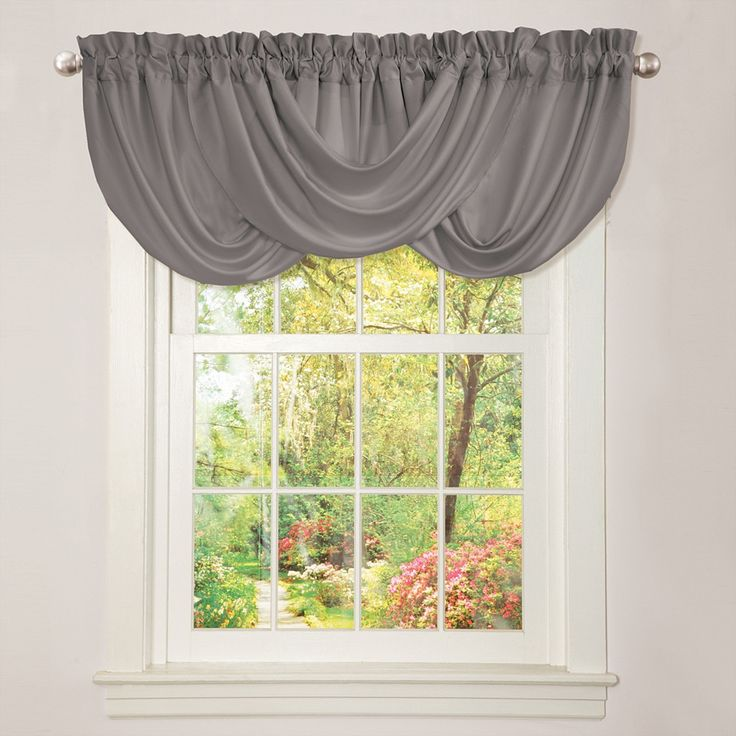 Lush Decor Lucia Grey Valance | Overstock™ Shopping - Great Deals on Lush Decor Valances