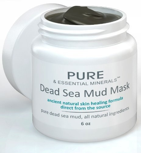 Dead Sea Mud Face Mask - Ancient Natural Face Mask and Facial Skin Care Treatment for Women, Men and Teens - Organic Masque Product Offers Scrub Moisturizer and Cleanser System - Anti Aging Clay and Mud Pack Heals Dry Skin, Acne, Eczema and Psoriasis - 6 oz by Pure & Essential Minerals, http://www.amazon.com/dp/B00C8YCFU4/ref=cm_sw_r_pi_dp_LbiPrb17KV72C