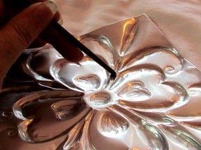 Faux Tin Tiles Tutorial | Suzy's Artsy Craftsy Sitcom