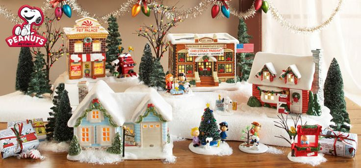 Department 56 Disney Christmas Village