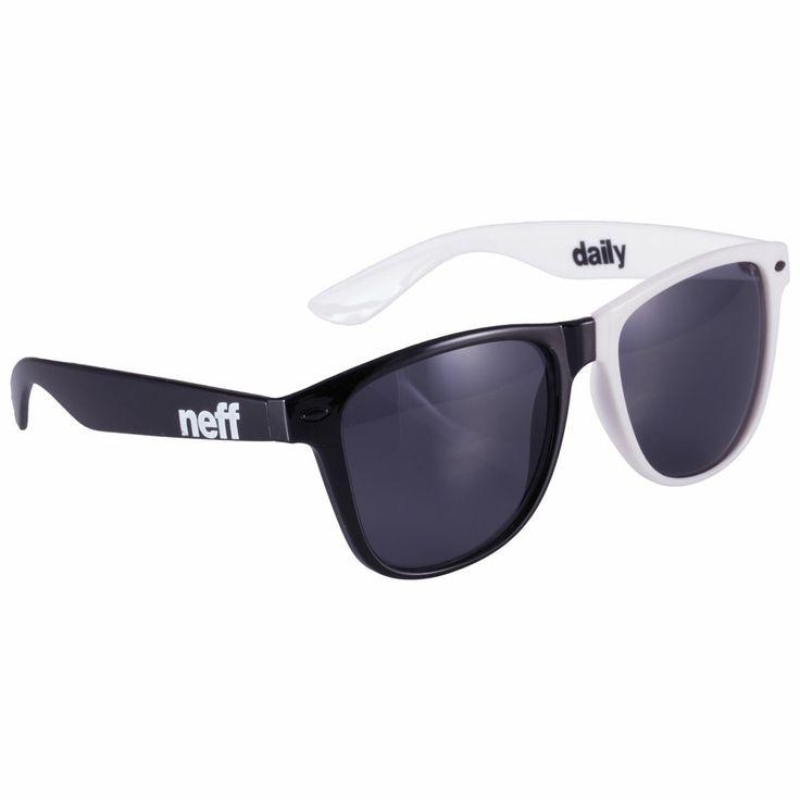 Neff Daily Sunglasses White JkW8FLC