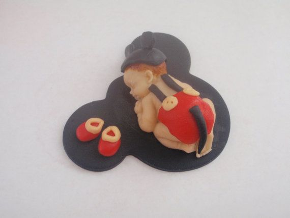 Cake Toppers Baby Mickey : 66 best images about Sleeping baby cake topper on ...