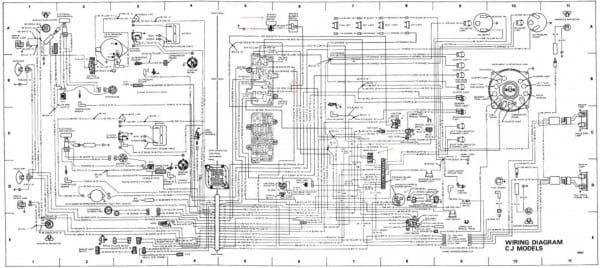 85 Jeep Cj7 Headlight Switch Wiring, Jeep Cj7 Wiring Diagram