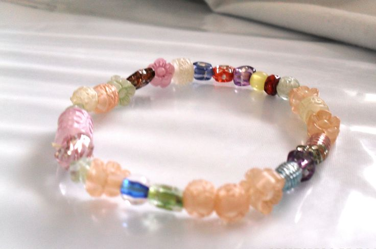Multi-coloured bracelet