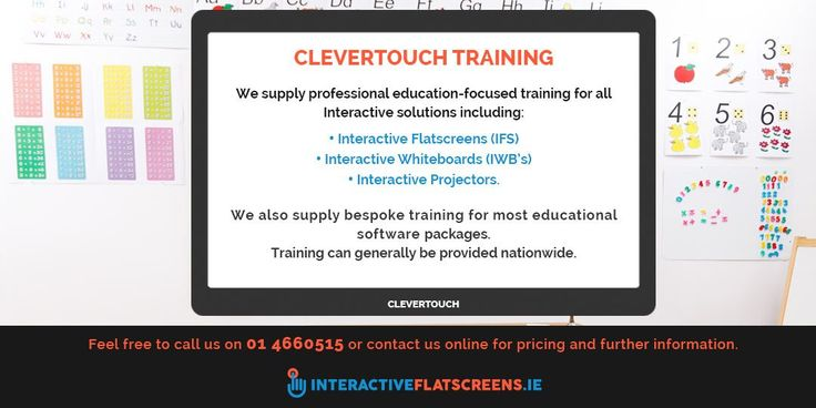 Clevertouch Training Ireland for Teachers - Interactive Flat Screens Ireland
