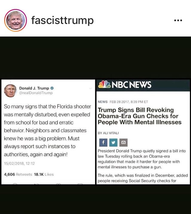 Now This Maniac wants to talk Mental Health? THE DAMAGE IS DONE & HE DID IT!!