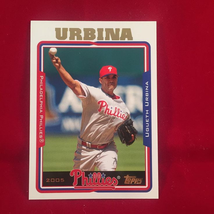 2005 Topps Update Ugueth Urbina  Happy Birthday Oogie!!! Heres some fun facts... only MLB player with UU or UUU as his initials. 2x All Star Lead the league in machete attacks on his farm workers in 2005 with 5 attacks. Did you know? Urbina said no thanks to paying $6 million to have his kidnapped mother released. . . . #phillies #philadelphiaphillies #uguethurbina #livingontheedge #machete #farm #workers #topps #update #2005 #kidnapped #mama #ransom #nothanks #mlb #baseball #birthday…